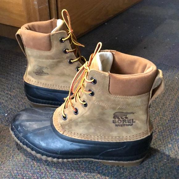 c5d7d8f65fd Men's Sorel Cheyanne II Lace Duck Boot